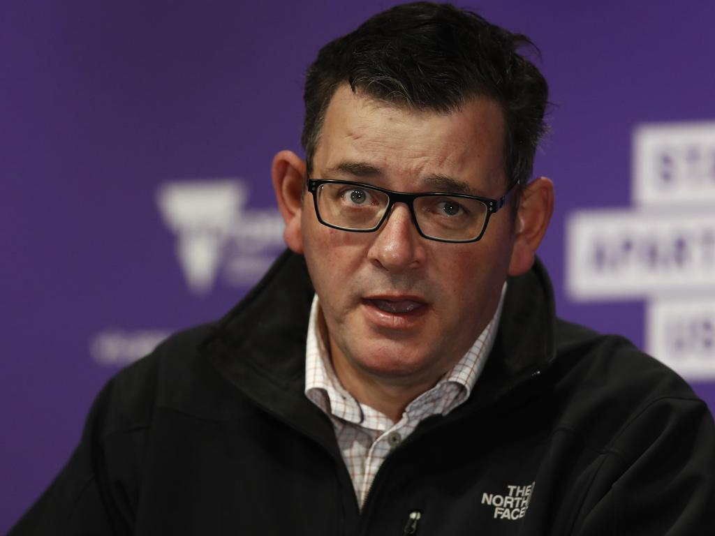 Victorian Premier Daniel Andrews has made some mistakes – but at least he's done something. Picture: NCA NewsWire / Daniel Pockett