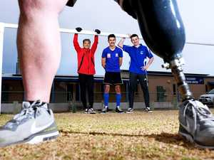 Soccer coach shares inspiring story after losing a leg