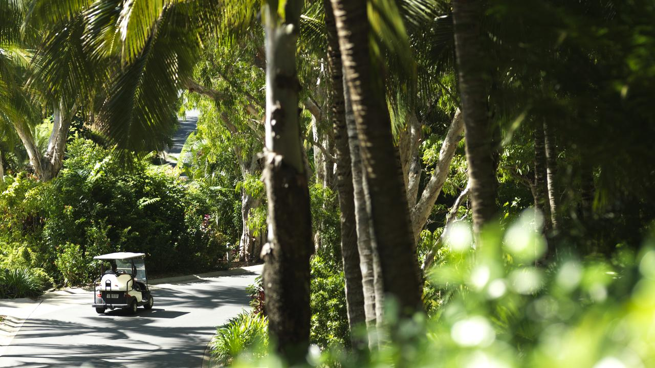 Hamilton Island reopened on Saturday after months of lockdown because of coronavirus. Picture: Jason Loucas
