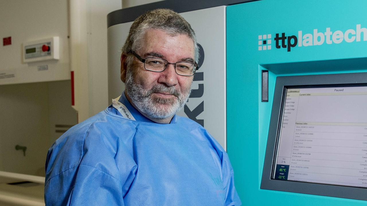 Professor Nigel McMillan, an infectious diseases expert. Picture: Jerad Williams