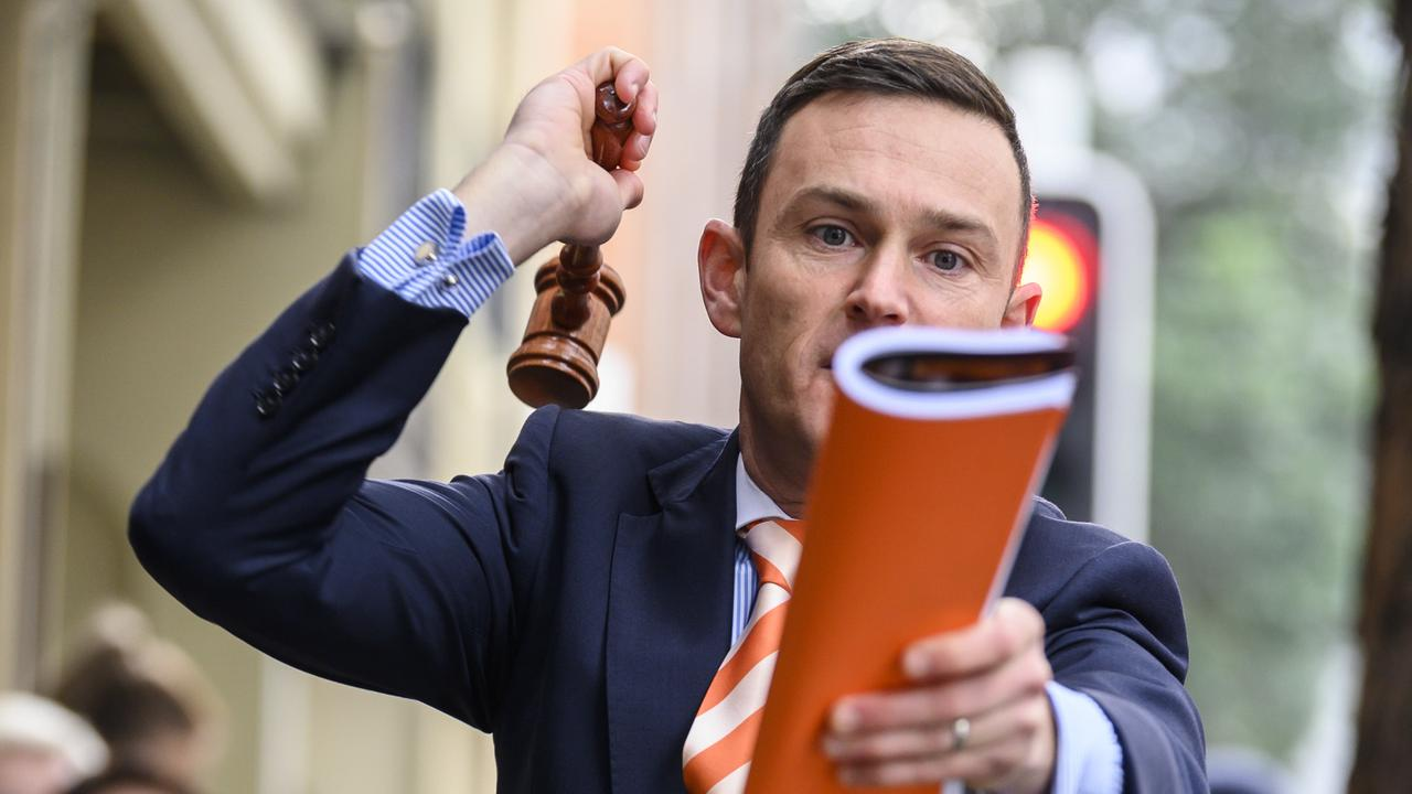 Auctioneer Damien Cooley said more sellers were considering pre-auction offers despite auctions doing well. Picture: Darren Leigh-Roberts