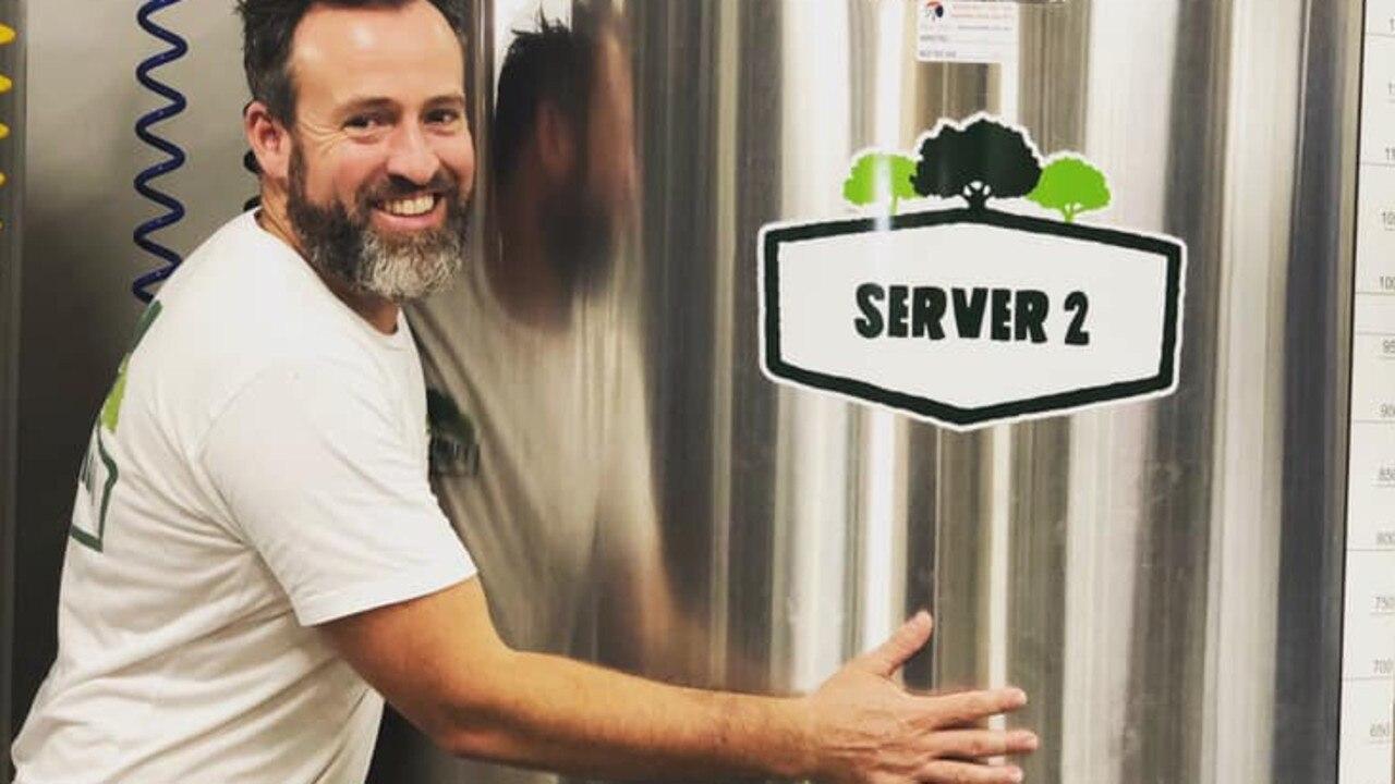 Head brewer Chris loves his work at Eumundi Brewery