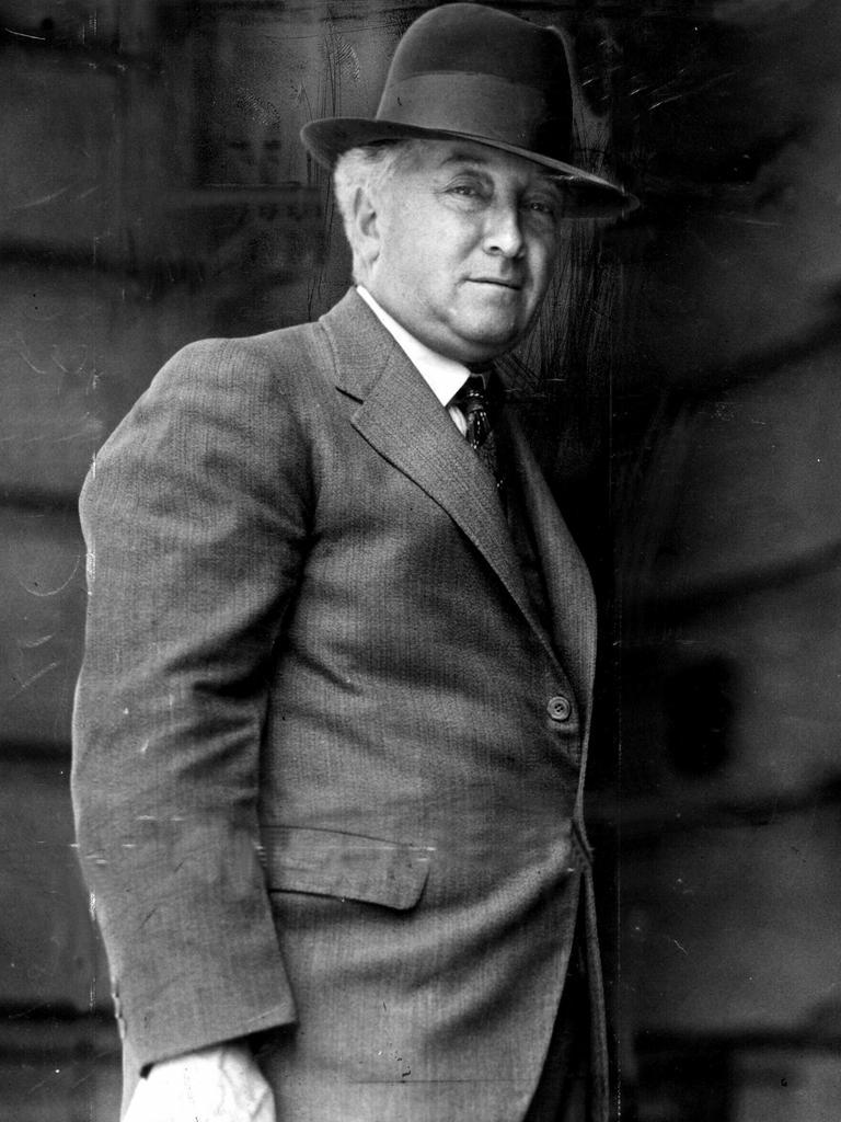 Former Australian Prime Minister Joseph Lyons.