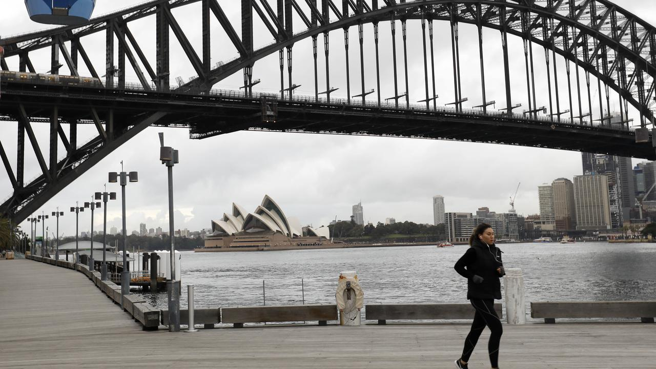 The RBA is expecting Australia's gross domestic product to fall 3 per cent for 2020 because of the coronavirus pandemic. Picture: NCA NewsWire / Damian Shaw