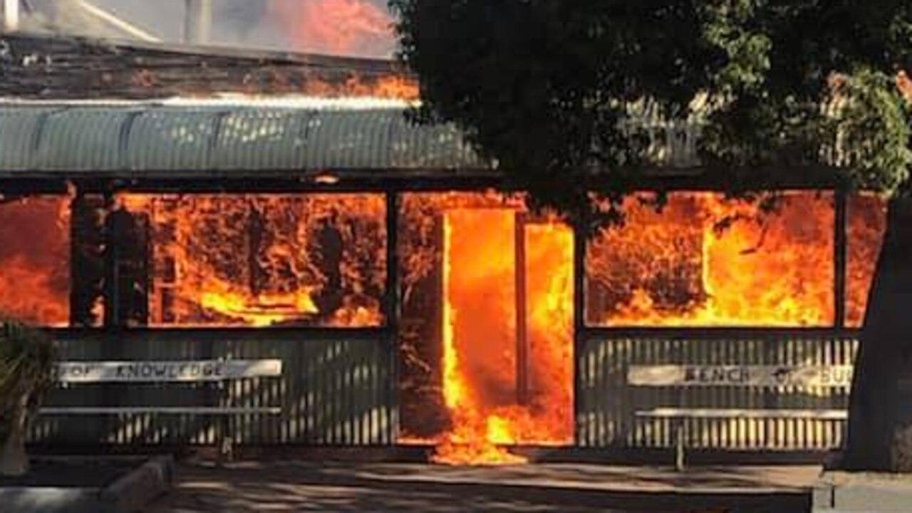 Muckadilla fire August 8 2019.
