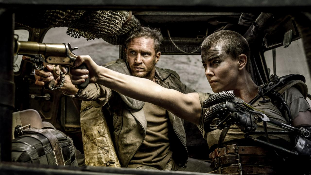As Furiosa in Mad Max