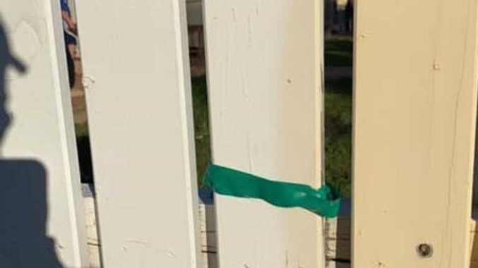 POLICE RESPOND: What to do if you find tape on your fence