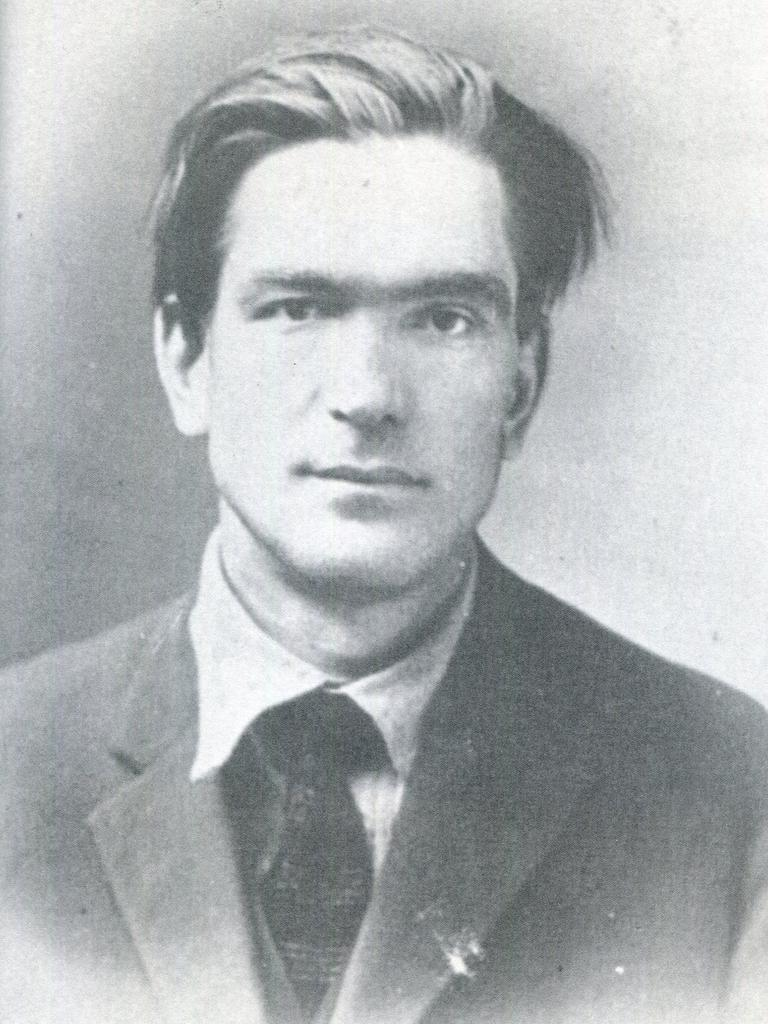 Communist agitator Alexander Zuzenko. Picture: Supplied