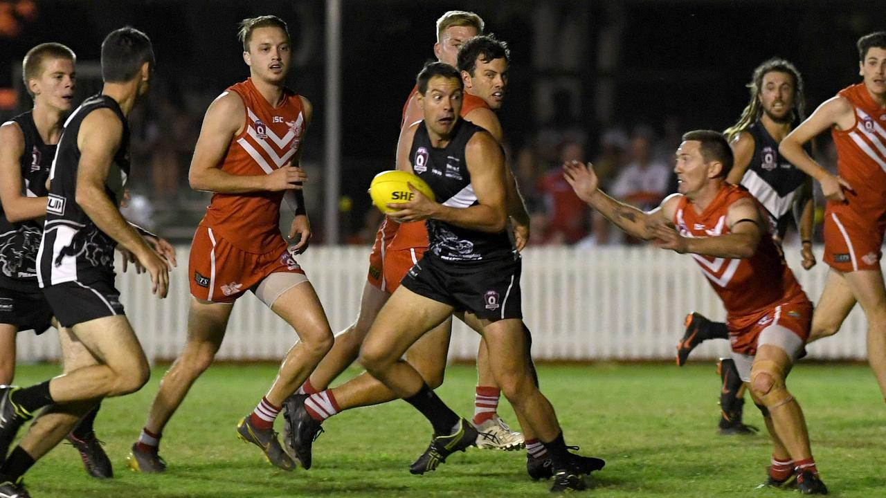 Panthers player Clinton Evans will have a big role to play in tomorrow's grand final replay against the Yeppoon Swans. Picture: File