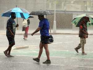 Storms to dump month of rain in a day