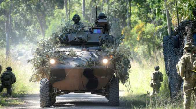 BREAKING: Shoalwater soldier hurt in accident involving tanker