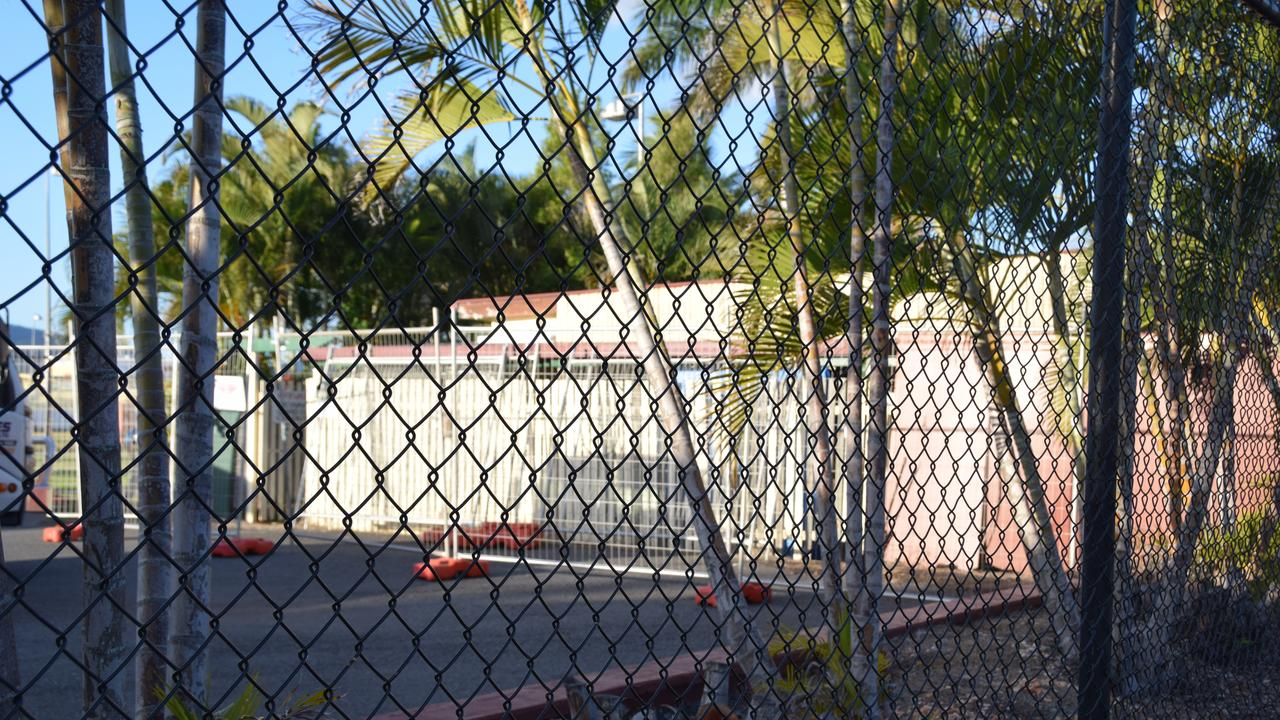 The former caretaker's house at Rockhampton showgrounds is being demolished.