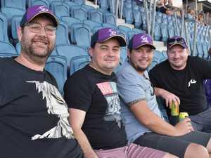Storm v Bulldogs NRL game
