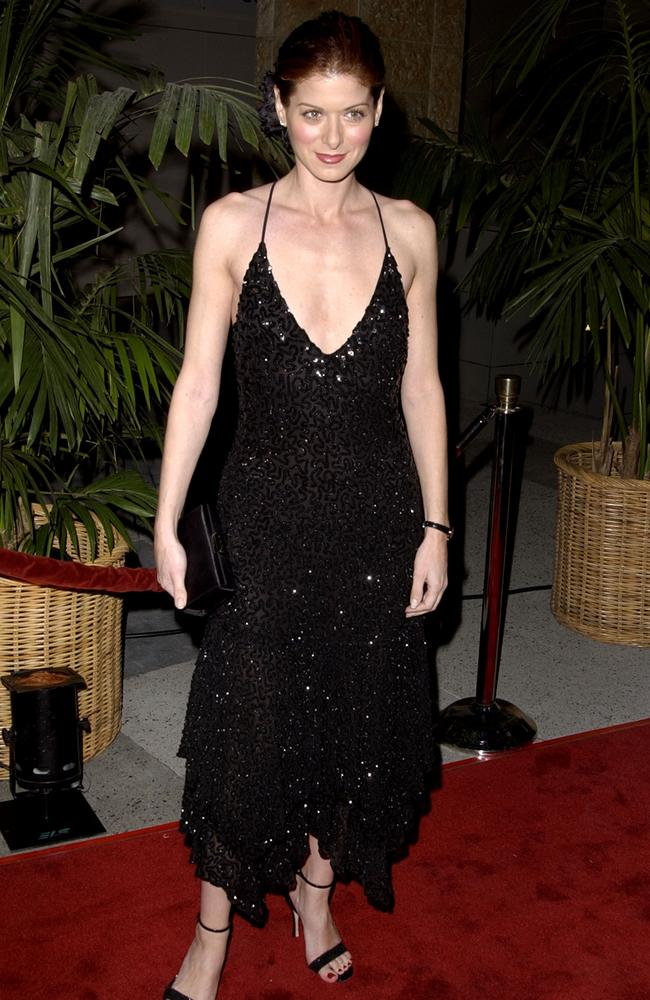 Messing looking very thin at another 2001 event. Picture: SGranitz/WireImage