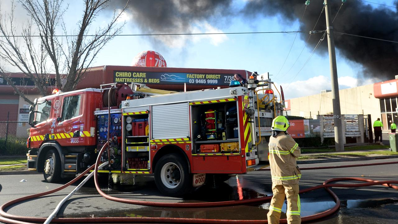 A private residence in North Rockhampton has caught alight.