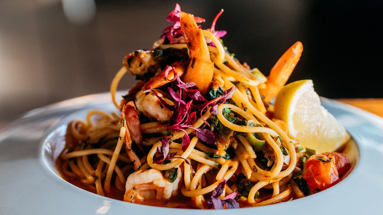 Alex & Co's seafood pasta. Picture: Kitti Gould
