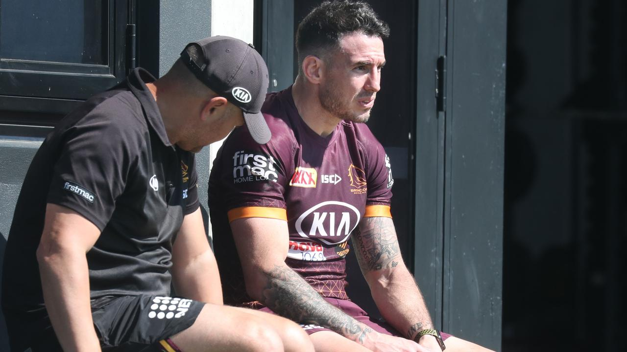 Boyd has quit the Broncos leadership group because of a communication breakdown.
