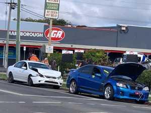 Three people assessed after Maryborough crash