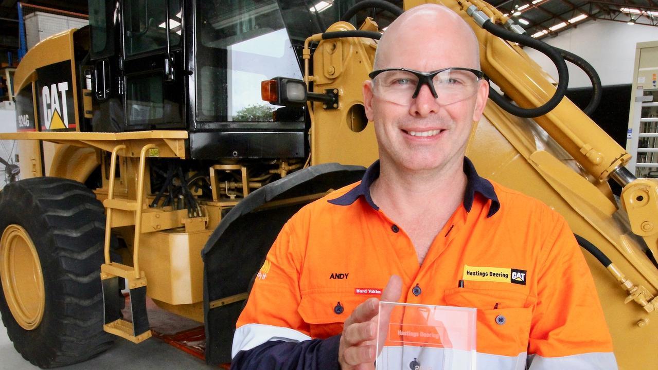 Hastings Deering apprentice Andrew Creber.