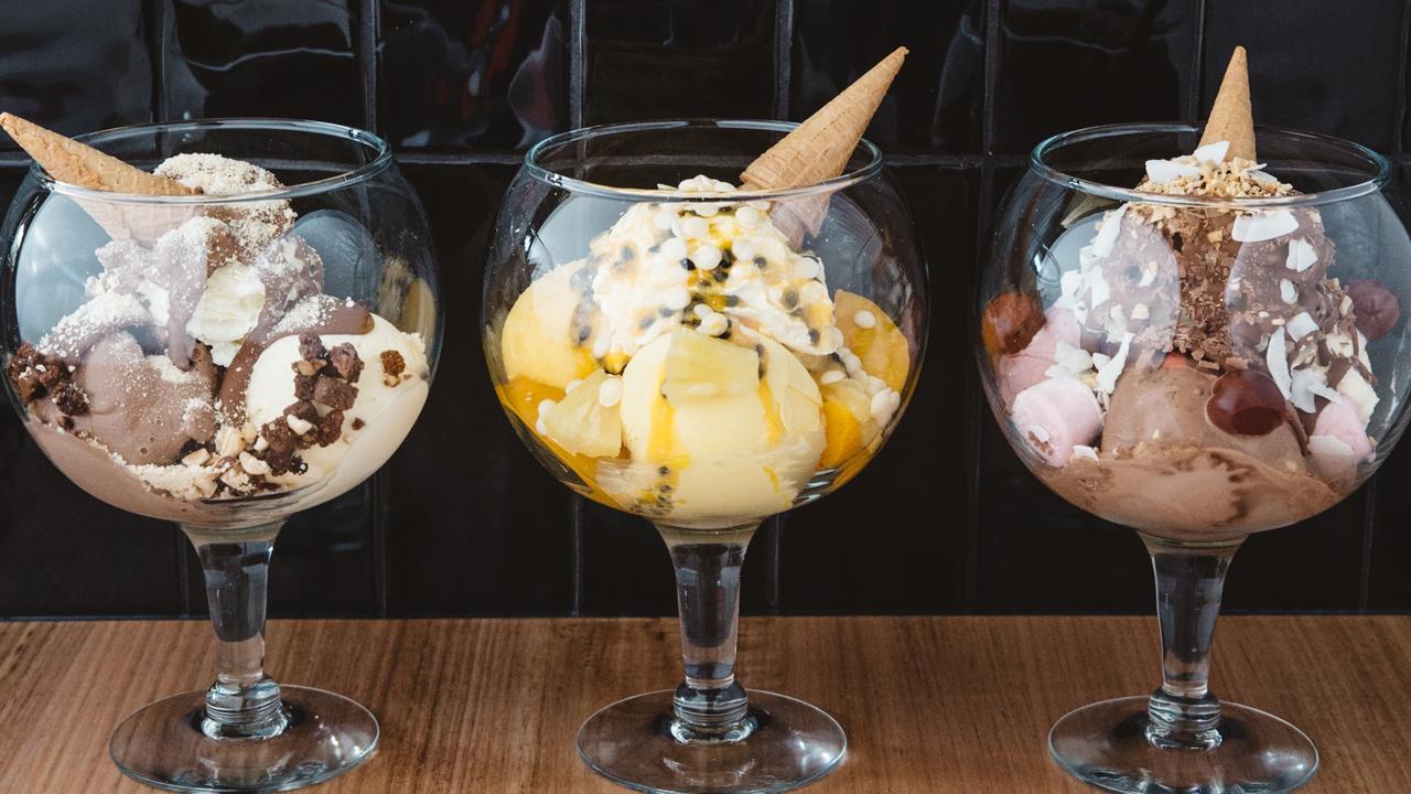 Bay Vista's ice-cream bowls. Picture: Supplied