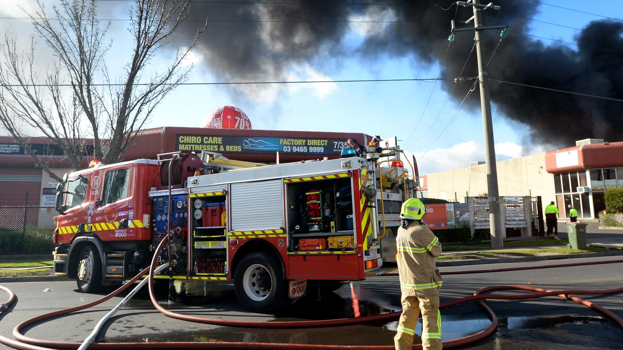 A North Rockhampton home was engulfed in flames on Saturday morning.