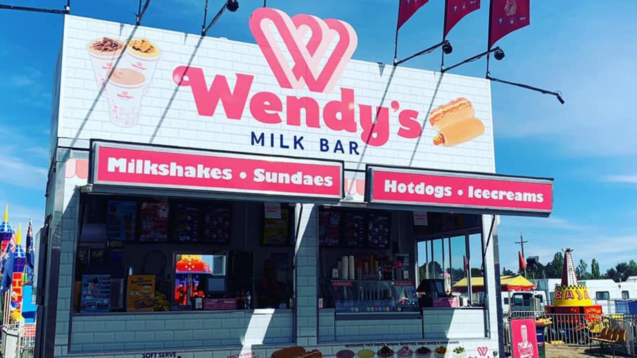 Wendy's Milkbar food truck.