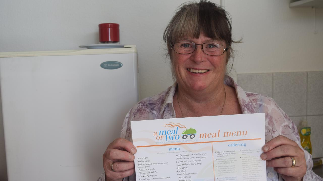 ON THE MARKET: Liz Arnold owner of frozen meal business A Meal or Two hopes her buyer will continue the tradition of checking in on customers.