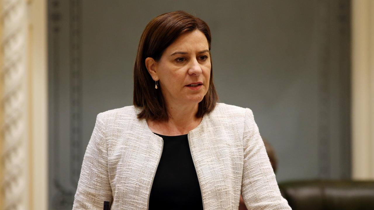 Leader of the Opposition Deb Frecklington during Question Time in Parliament. Pics Tara Croser.