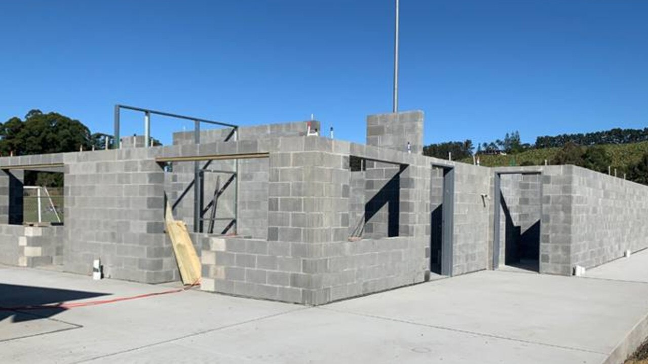 An update on the upgrades at the Coffs Coast Sport and Leisure Park, as new amenity blocks near completion.