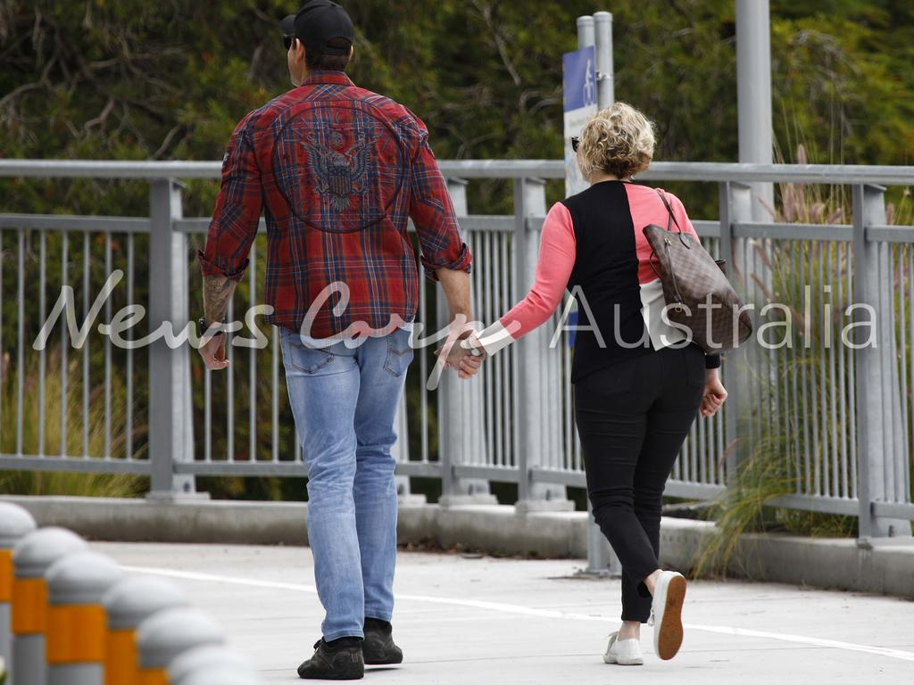 Ben Roberts-Smith and his lawyer Monica Allen have been spending personal time together. Picture: WP Media