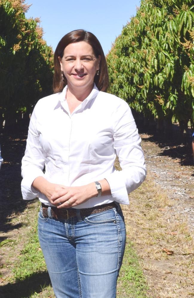 LNP Leader Deb Frecklington.