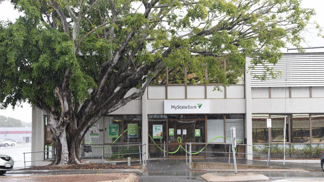 Rockhampton CBD MyState Bank.