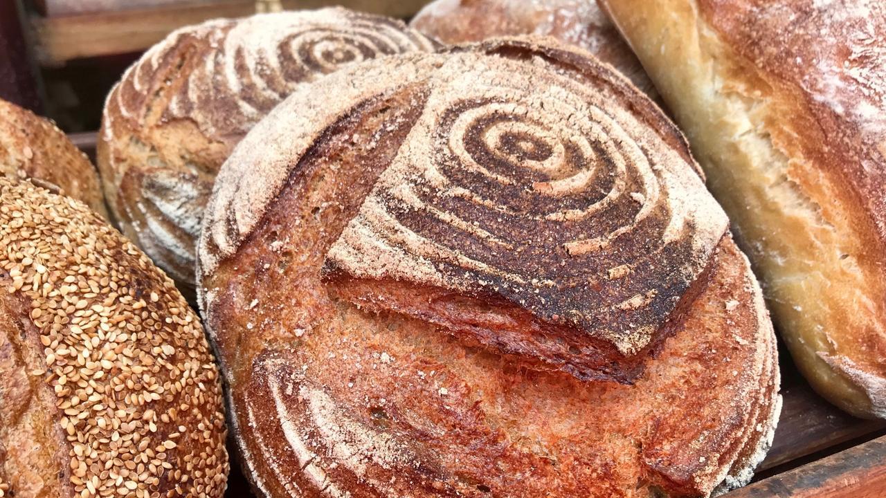 Bourke Street Bakery's freshly baked bread. Picture: Jenifer Jagielski
