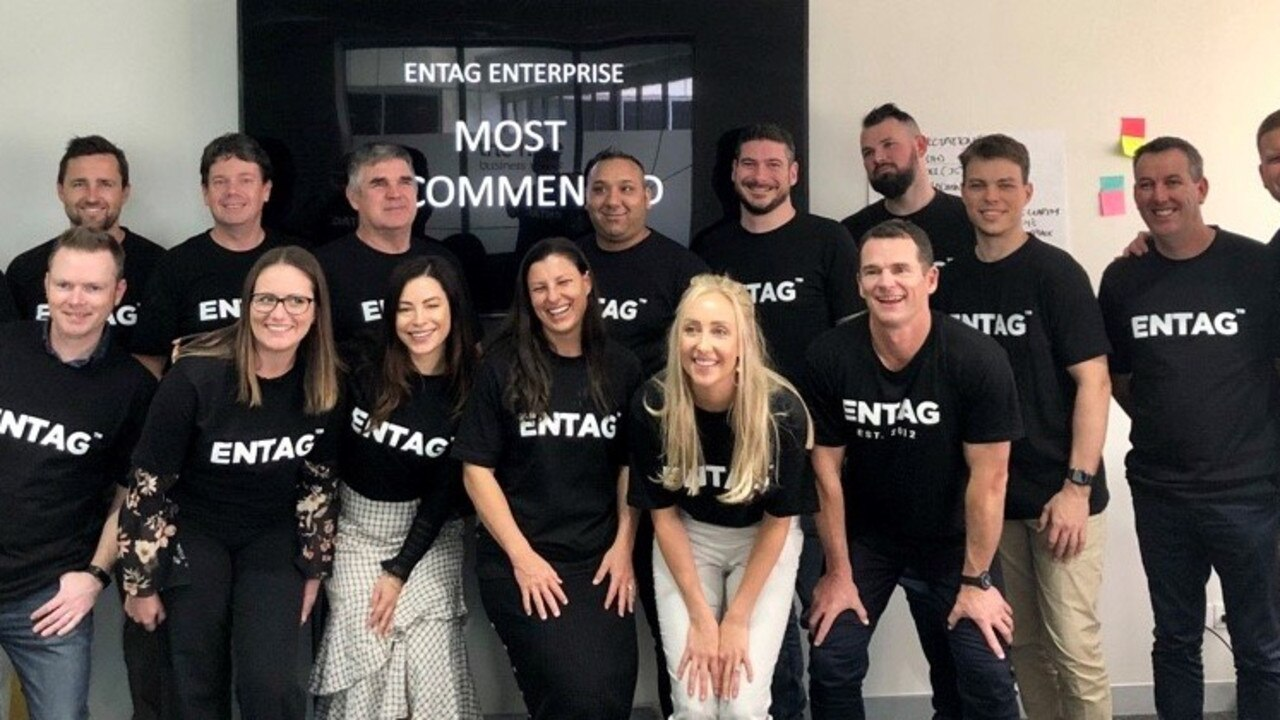 DIGITALISING HEALTHCARE: A Sunshine Coast technology business, ENTAG, is the team behind an innovative solution to virtual healthcare across the country that's helping free up hospital beds. Picture: Supplied