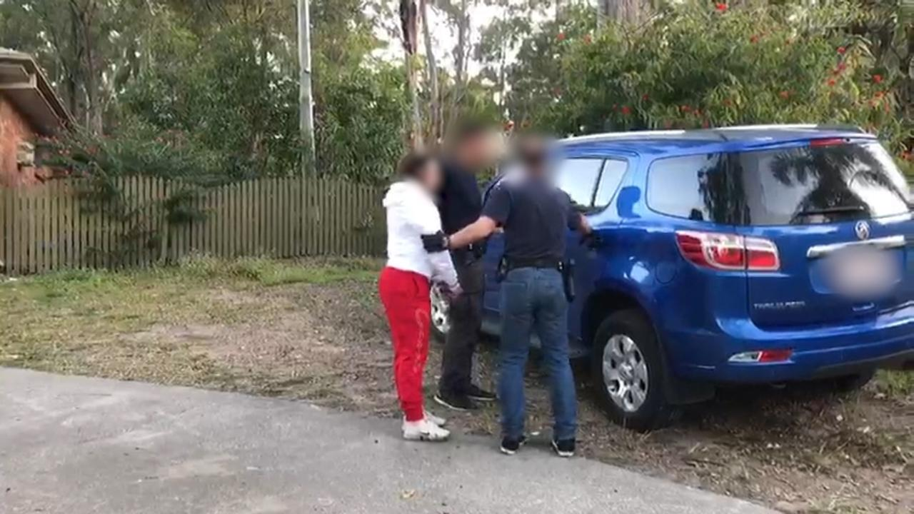 Three women have been arrested over links to the alleged theft of $100,000 from superannuation accounts, following raids by the Australian Federal Police.
