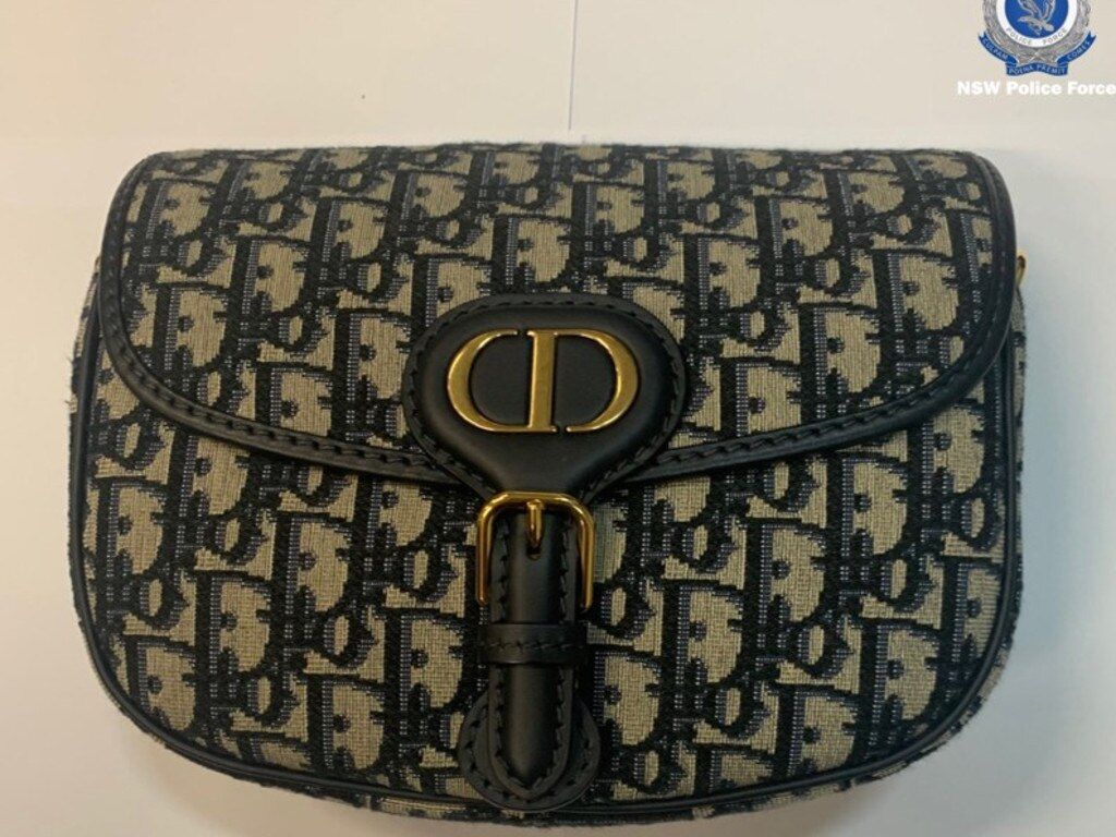 One of the designer handbags seized from Le's home in Surry Hills. Picture: NSW Police