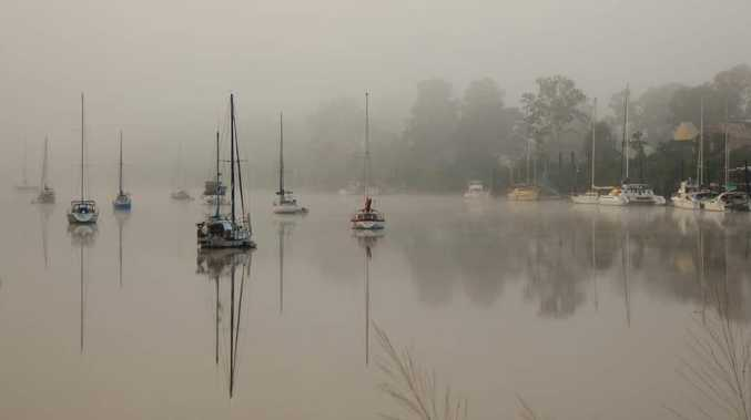 Photos show the beauty of foggy days in the region