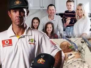 'Numb, helpless': Moment Ponting thought he'd lost his son