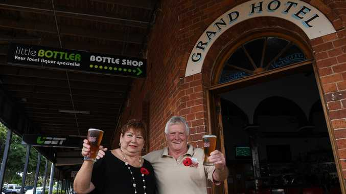 TRIBUTE: Raise a glass to publican who could 'light up bar'