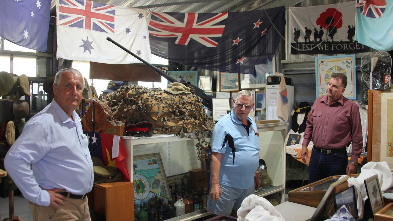 LNP Keppel candidate Adrian de Groot tours Cockscomb Veterans Bush Retreat at Cawarral.