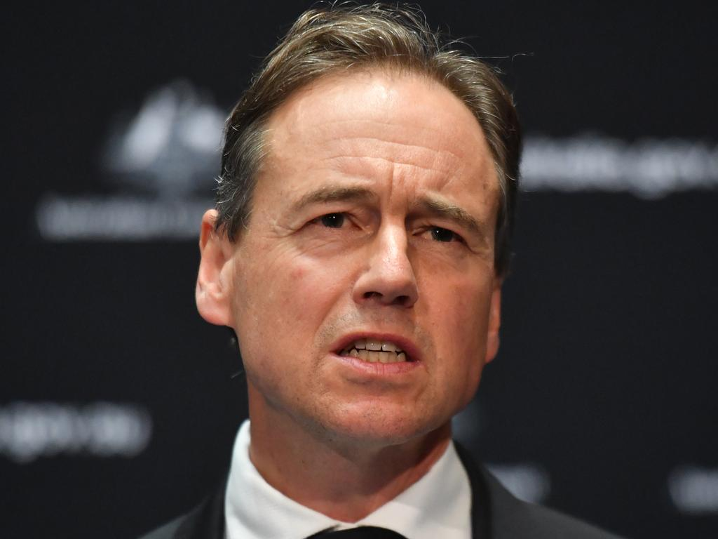 Minister for Health Greg Hunt. Picture: AAP