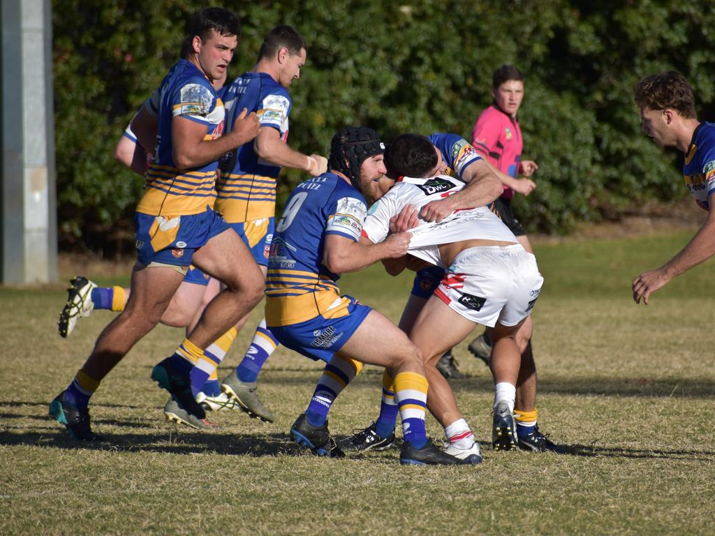 All the action as Lismore plays Byron Bay