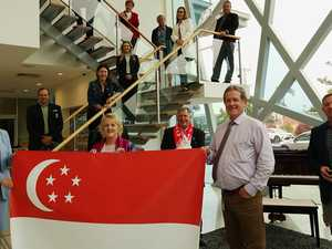 CQ mayors unite to celebrate global milestone event