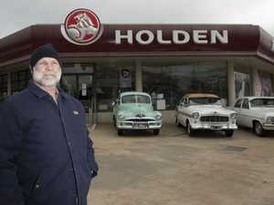 Holden car club owners display their cars at