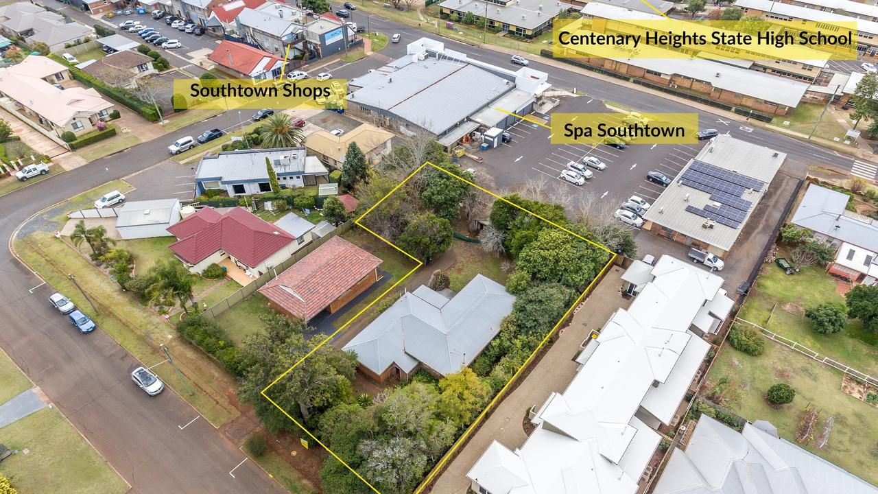 SOLD: A long-term shopping centre in Toowoomba has bought a neighbouring residential block, with the aim of developing it in the future.