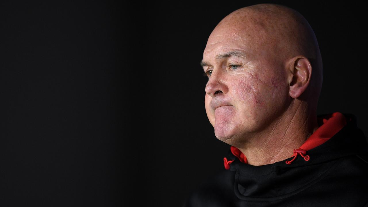 Dragons coach Paul McGregor has survived plenty in his time at the club. Picture: AAP/Dan Himbrechts