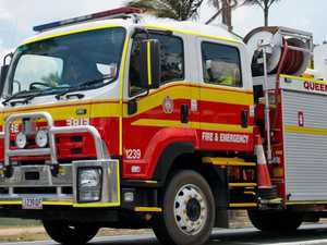 Fire crews rush to save Ipswich home from flames