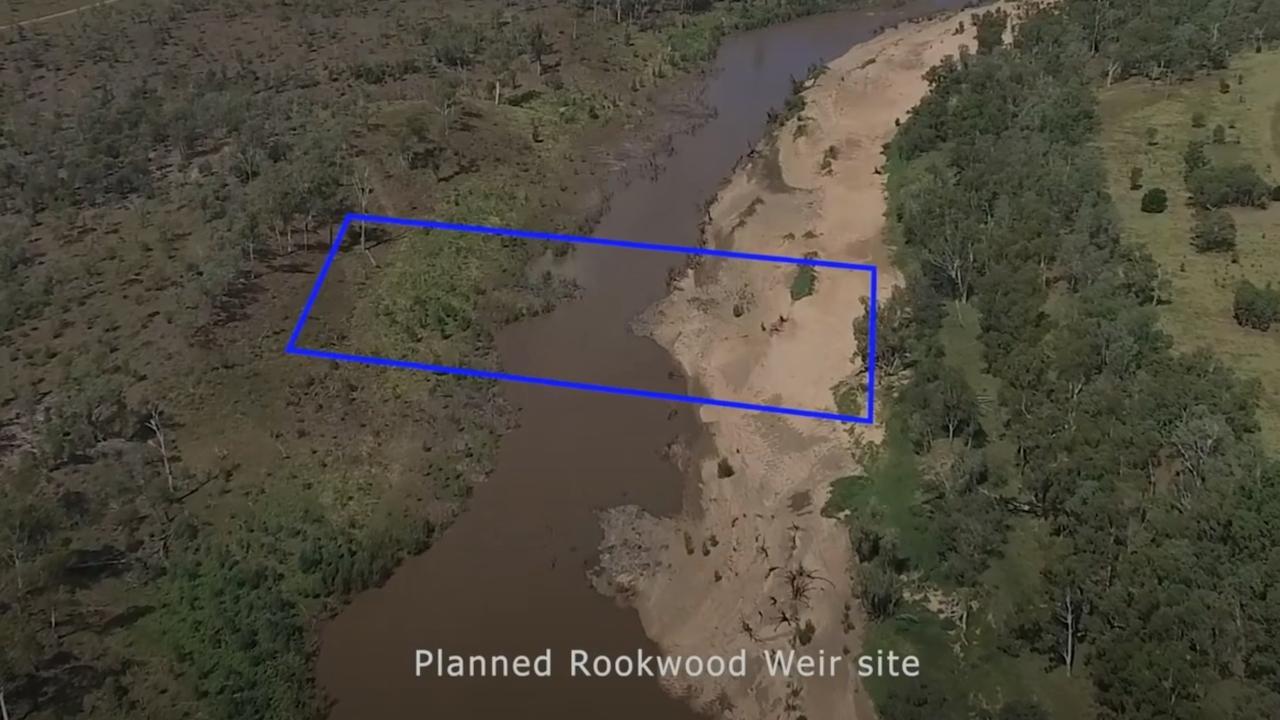 ROOKWOOD PLANS: Insert Rookwood Weir here.