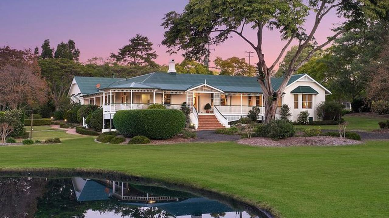 Residents have been left wondering what Queensland's richest man Clive Palmer has planned for their secluded ­riverfront ­suburb.