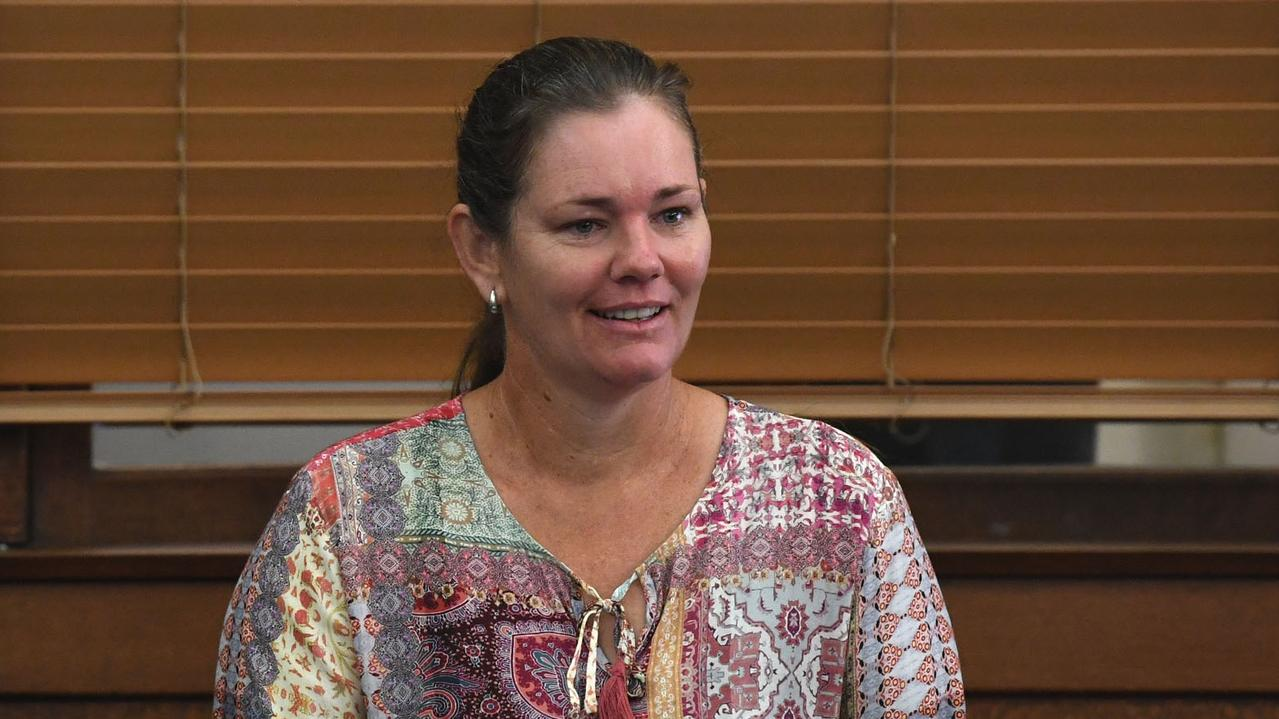 New Gympie councillor Jess Milne provided a character reference for the defendant, who had previously volunteered with the council.